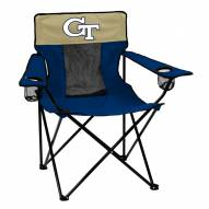 Georgia Tech Yellow Jackets Elite Tailgating Chair