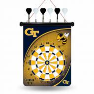 Georgia Tech Yellow Jackets Magnetic Dart Board