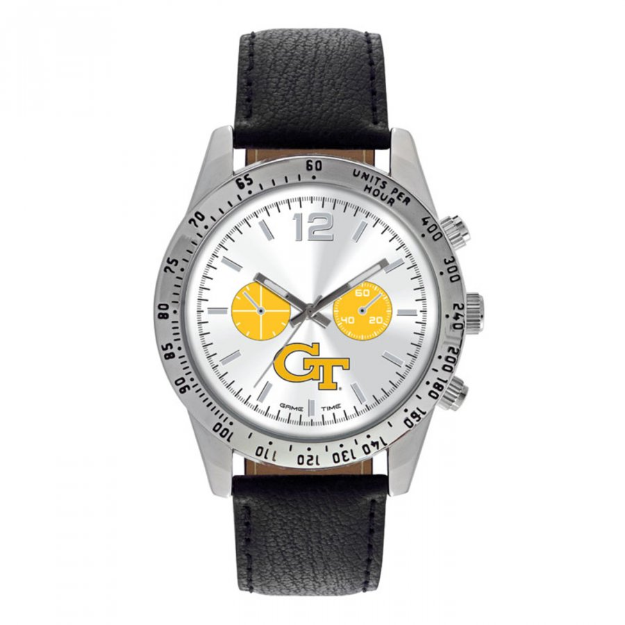 Georgia Tech Yellow Jackets Men's Letterman Watch