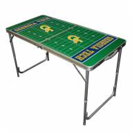 Georgia Tech Yellow Jackets Outdoor Folding Table