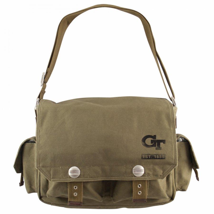 Georgia Tech Yellow Jackets Prospect Messenger Bag