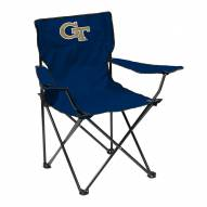 Georgia Tech Yellow Jackets Quad Folding Chair