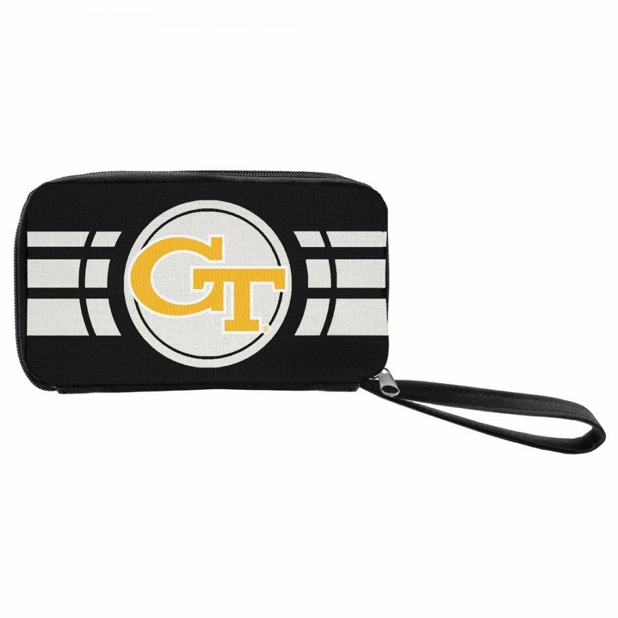 Georgia Tech Yellow Jackets Ripple Zip Wallet