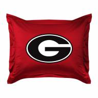 Georgia Bulldogs NCAA Jersey Pillow Sham