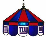 """New York Giants NFL Team 16"""" Diameter Stained Glass Pub Light"""