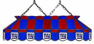 "New York Giants NFL Team 40"" Rectangular Stained Glass Shade"