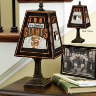 San Francisco Giants MLB Hand-Painted Art Glass Table Lamp