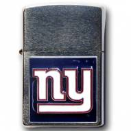 New York Giants Large Emblem NFL Zippo Lighter