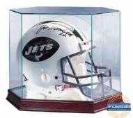 Glass Football Helmet Display Case