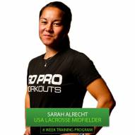 Go Pro Workouts Lacrosse Training Program - Sarah Albrecht