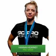 Go Pro Workouts Ski Training Program - Hannah Kearney