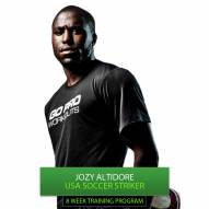 Go Pro Workouts Soccer Training Program - Jozy Altidore