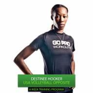 Go Pro Workouts Volleyball Training Program - Destinee Hooker