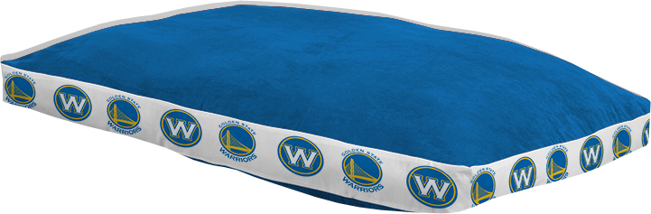 """Golden State Warriors 26"""""""" x 37"""""""" Dog Bed"""