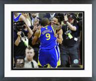 Golden State Warriors Andre Iguodala & Stephen Curry 2015 Finals Framed Photo