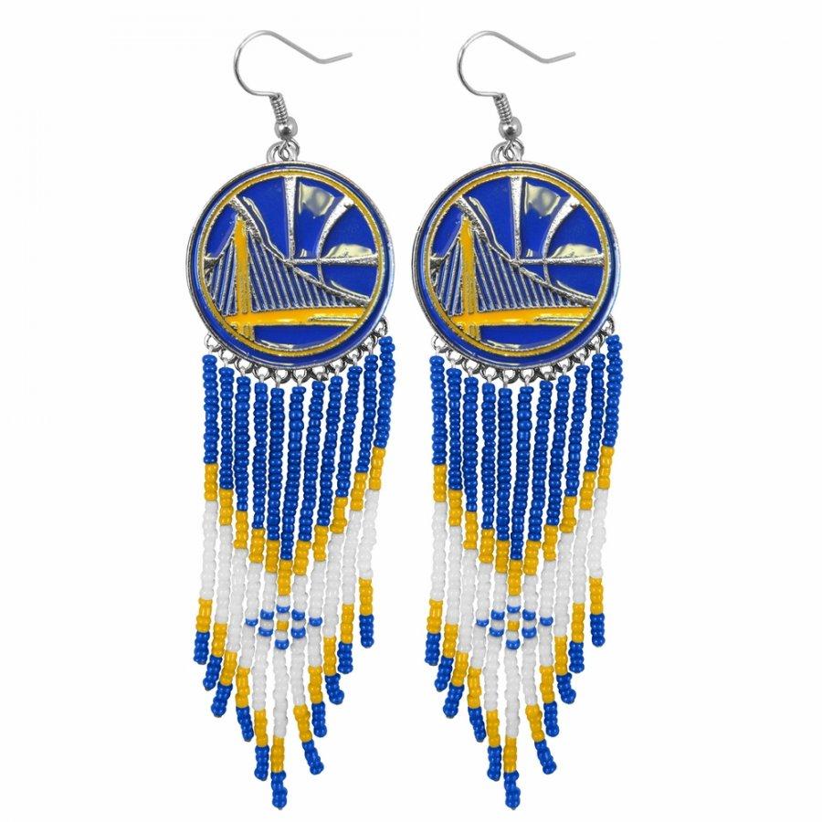 Golden State Warriors Dreamcatcher Earrings