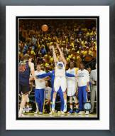Golden State Warriors Klay Thompson Game 1 of the 2015 NBA Finals Framed Photo