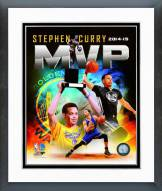 Golden State Warriors Stephen Curry 2015 MVP Portrait Plus Framed Photo