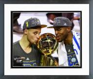 Golden State Warriors Stephen Curry & Andre Iguodala 2015 NBA Finals Framed Photo