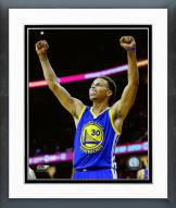 Golden State Warriors Stephen Curry Game 6 of the 2015 NBA Finals Framed Photo