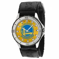 Golden State Warriors Veteran Velcro Mens Watch