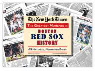 Greatest Moments in Boston Red Sox History Newspaper