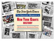 Greatest Moments in New York Giants History Newspaper