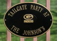 Green Bay Packers NFL Personalized Logo Plaque - Black Gold