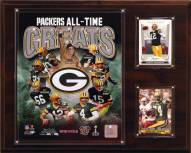 "Green Bay Packers 12"" x 15"" All-Time Great Plaque"