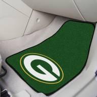 Green Bay Packers 2-Piece Carpet Car Mats