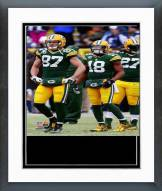 Green Bay Packers 2014 Playoff Action Framed Photo