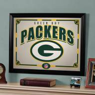 "Green Bay Packers 23"" x 18"" Mirror"
