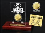 Green Bay Packers 4x Super Bowl Champions Etched Acrylic