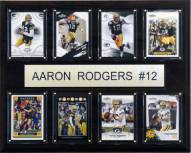 "Green Bay Packers Aaron Rodgers 12"" x 15"" Card Plaque"