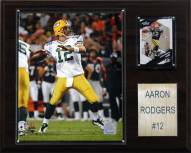 "Green Bay Packers Aaron Rodgers 12 x 15"" Player Plaque"