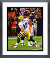 Green Bay Packers Aaron Rodgers 2008 Action Framed Photo