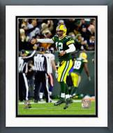 Green Bay Packers Aaron Rodgers 2014 Action Framed Photo