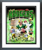 Green Bay Packers Aaron Rodgers 2014 Portrait Plus Framed Photo