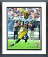 Green Bay Packers Aaron Rodgers 2015 Action Framed Photo