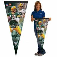 Green Bay Packers Aaron Rodgers Premium Pennant