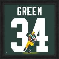 Green Bay Packers Ahman Green Uniframe Framed Jersey Photo