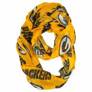 Green Bay Packers Alternate Sheer Infinity Scarf