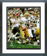 Green Bay Packers Bart Starr SuperBowl II 1968 Action Framed Photo
