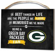 Green Bay Packers Best Things Small Plaque