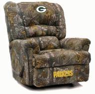 Green Bay Packers Big Daddy Camo Recliner