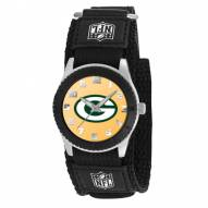 Green Bay Packers Black Rookie Kids Watch
