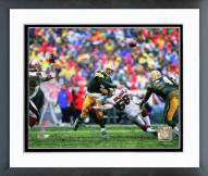 Green Bay Packers Brett Favre 1997 Action Framed Photo