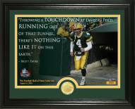 Green Bay Packers Brett Favre 2016 Pro Football HOF Induction Quote Bronze Coin Photo Mint