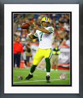 Green Bay Packers Brett Hundley 2015 Action Framed Photo