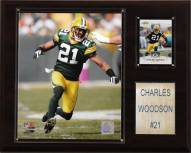 "Green Bay Packers Charles Woodson 12 x 15"" Player Plaque"